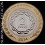 Nueva Moneda 2 Pesos 2014 - Sin Circular