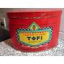 Antigua Lata Caramelos Crema Tofi Aguila Saint Vintage