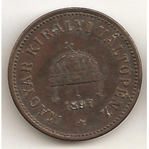 Hungria, 2 Filler, 1897. Xf