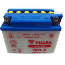 Bateria Yuasa Yb4l-b Scooter 50 Cc Y Muchas Mas! En Fasmotos