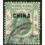 Hong Kong Oficina China Sello Usado Rey George 5° Años 1922+