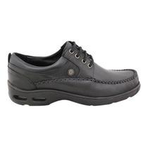 34cc653f Zapatos Ringo Vader 10 Cuero Costura Burbuja Negro O Marron