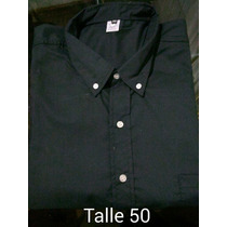 Camisa Hombre Pierre Chice Talles Especiales Talle 50