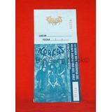 Entrada Horcas 2002 Sin Fecha ( Eshop Big Bang Rock )