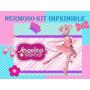 Kit Imprimible Angelina Bailarina Fiesta Cumpleaños Ideas