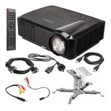 Proyector 3500 Lumens 1080p Hdmi Usb Notebook Led Vga