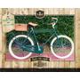 Bicicleta Hombre Estilo Antigua Inglesa Doble Caño Contraped