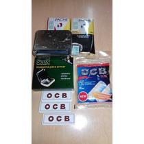 Promo Maq. Autom.+ 2 Tabaco + Filtros Ocb X150u +3 Papel Ocb