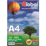 Papel Autoadhesivo Foto A4 Glossy A4 X 20 Hojas 135gr