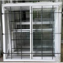 Ventana Vidrio Entero 150 X 110 C/reja Somos Fabricantes