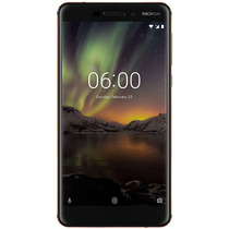 Celular Libre Nokia N6.1 Negro