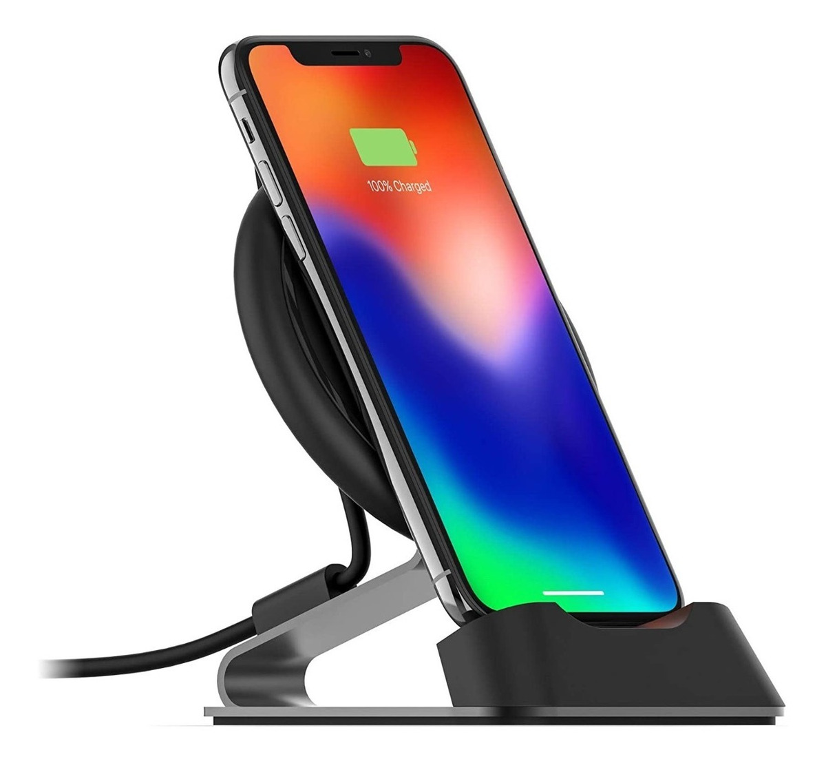 CARGADOR WIRELESS QI CHARGE STREAM DESK STAND MOPH