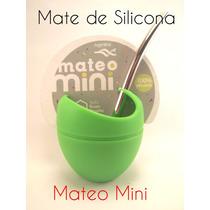 Mate De Silicona Mateo Mini. Todos Los Colores.