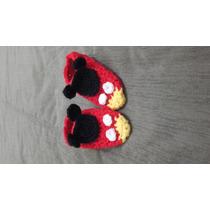 Pantunfla Crochet Mickey