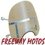 Parabrisa Custom Chopero Small 15'' En Freeway Motos !!