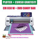 Brother Scan N Cut Plotter De Corte Cm650w Candy Bar + Kit