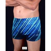 Malla Boxer Natación Speed Estampados
