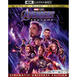 Avengers Endgame 4k Ultra Hd + Blu-ray Original Imp En Stock