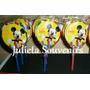 Plancha De Etiqueta Para Chupetin Paleta Mickey