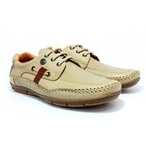 Zapatos Nautico Hombre Ringo Bilgax 20 Cuero C/ Cordon