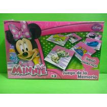 Juego De La Memoria Minnie Disney
