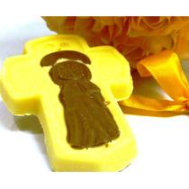 20 Cruces De Chocolate Para Souvenir De Comunión O Bautismo