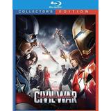 Blu-ray Captain America Civil War / Capitan America 3/ 3d 2d