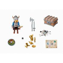 Playmobil Vikingo Con Sus Tesoros Y Armas - Tuni 5371