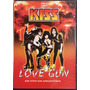Dvd Kiss - Love Gun ( Vivo Argentina ) Big Bang Rock