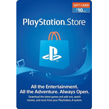 Psn Gift Card 10 Usd - Eeuu Store - Ps4 - Lupogames