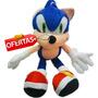 Sonic Muñeco Peluche Excelente Calidad 30 Cm Oferta!