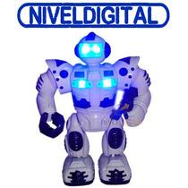 Robot Robo Sapiens Con Movimiento Y Sonido Super Luminoso
