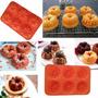 Molde Silicona Minitorta,flan,gelatina,muffin Catedral,jabón