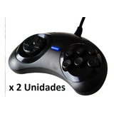 Gamepad Joystick Sega Usb  X 2 Unidades Pc Raspberry