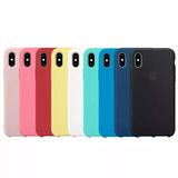 Funda Silicone Case 5s Se 6 6s 7 Plus iPhone 8 Plus Original