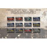 Láminas Juan María Traverso Tc Chevy Ford Autos 39x22 Cms