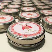 Latas Pastilleros Personalizados Souvenirs Cumpleaños Quince