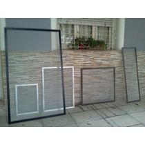Mosquiteros De Aluminio ,bajo Parrilla ,ventanas Puertas