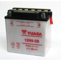 Bateria Yuasa Atv 12n9-3b Yamaha Kawa Chinos Y Mas Dist Ofic