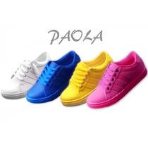 Zapatilla De Colores Primavera - Verano / Calzado Paola