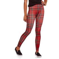 Legging Importada,calzas Escocesas Medium, Nobo! Nueva!