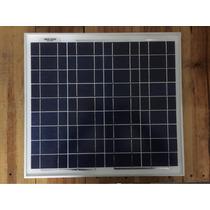 Panel Solar 20wp De 12v Y Regulador De Carga