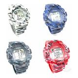 Reloj Digital Cronometro  Camuflados X 5 Unidades Nuevos