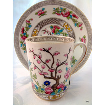 Taza Chocolatera Arbol De La Vida Aynsley-bone China Ngland