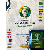 Figuritas Copa América 2019 - Album + 25 Sobres. Fyj