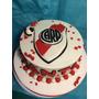Torta Fútbol Con Escudo