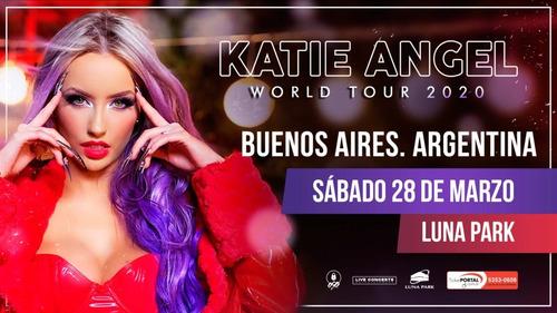 Entradas Katie Angel Preferida Fila 1 Lo Mejor Luna Park