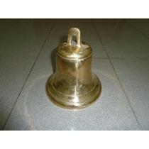 Campana De Bronce Original ( Marca Ciervo) El Mejor Sonido