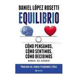 Equilibrio - Daniel López Rosetti Libro Nuevo