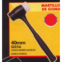 Martillo De Goma Black Jack Doble Dureza G056